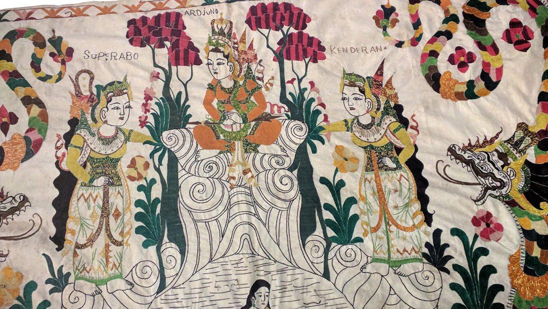 Balinese Kamasan Painting 1