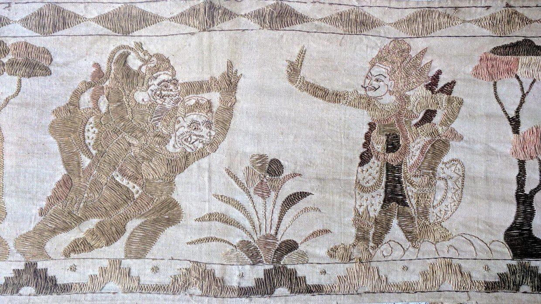 Balinese Kamasan Painting 3