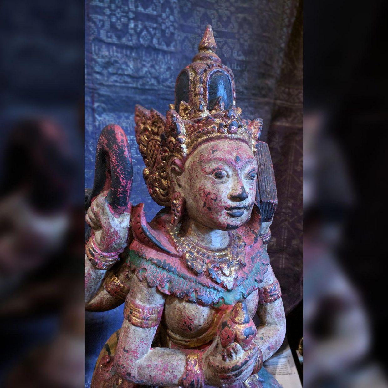 Balinese Wooden Statue