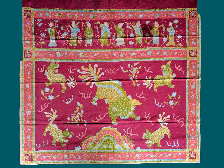 Batik Tulis Java Red