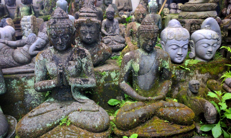 Stone Buddhas Carving