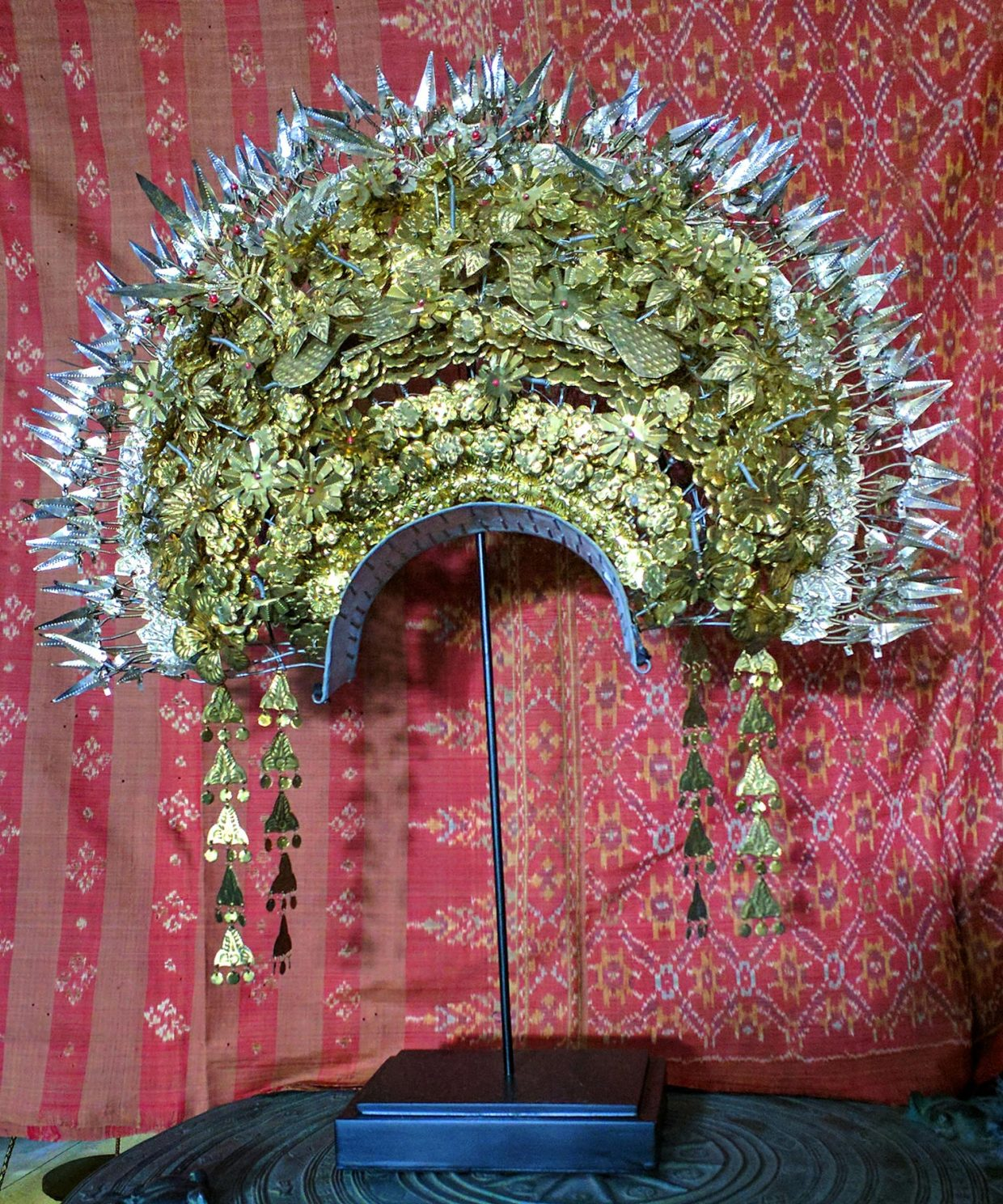 Sumatran Wedding Head Decoration