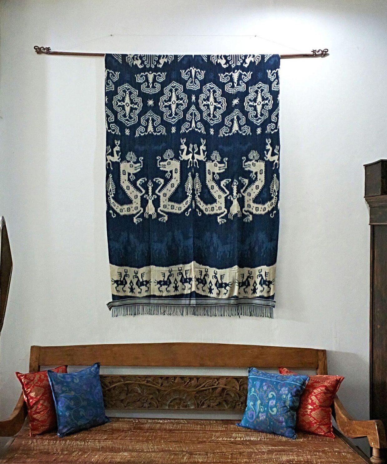 Sumba Ikat Textile Blue