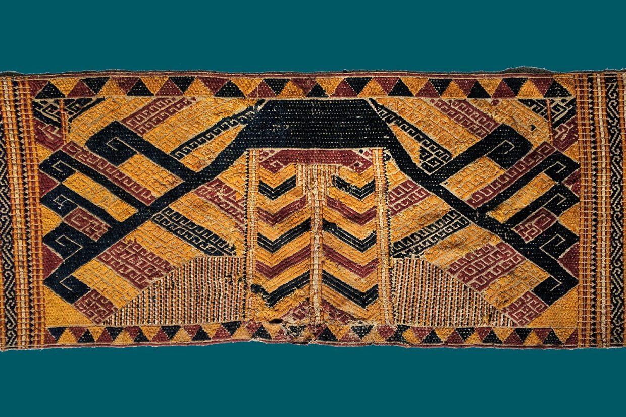 Tatibin Ritual Textile from Lampung South Sumatra