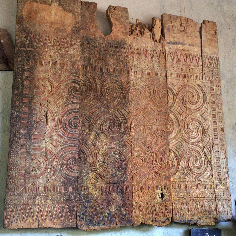 Toraja wood panel