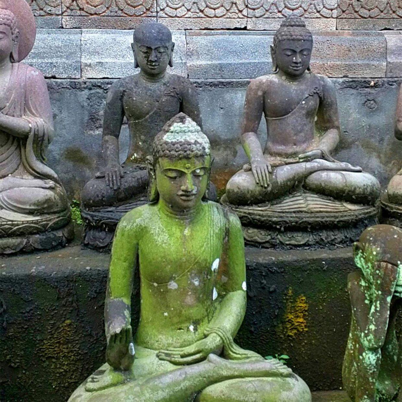 Various Stone Buddha Statue