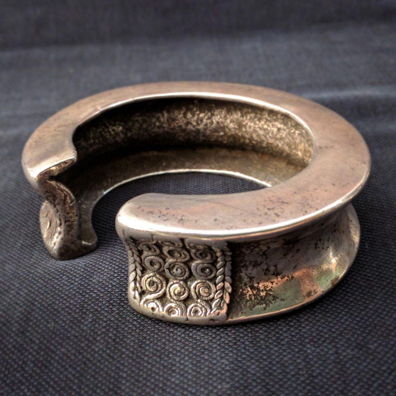 Antique Timor Silver Bracelet