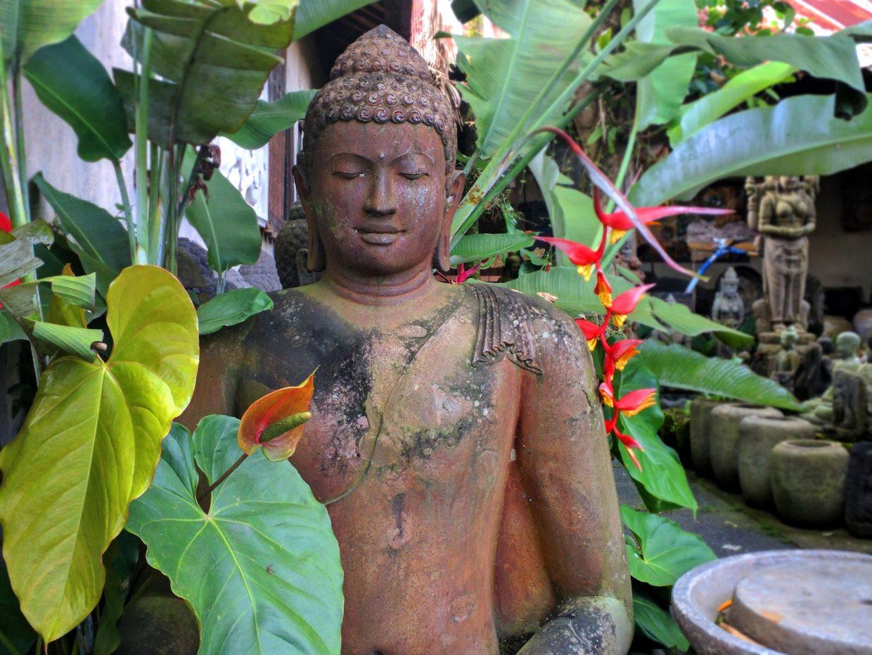 Buddha Hand Carved Stone