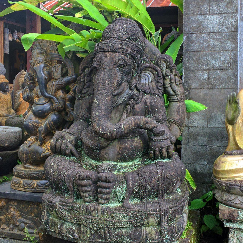 Ganesha Stone Carved 3