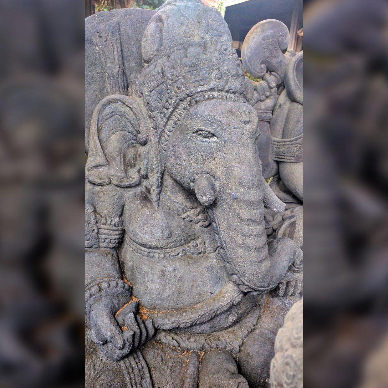 Ganesha Stone Carved 4